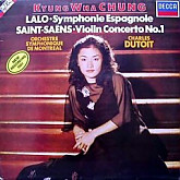 Kyung-Wha Chung / LALO;스페인교향곡,SAINT-SAENS;바이올린협주곡 제1번(몬트릴 심포니) DUTOIT / DIGITAL RECORDING